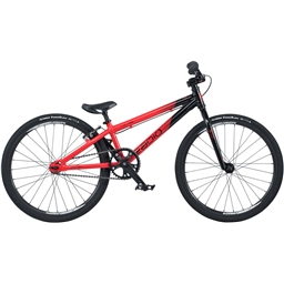 "Radio Raceline Cobalt 20"" Mini Complete BMX Bike 17.5"" Top Tube Black/Red"