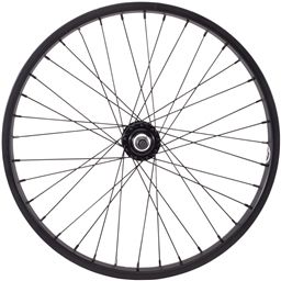 Salt Everest Front Wheel 20 Black