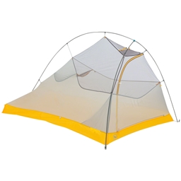 Big Agnes Inc. Fly Creek HV UL2 Bike Packing Shelter: Gray/Gold 2-person