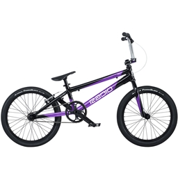 "Radio Xenon Pro XL BMX Race Bike - 21.25"" TT, Black/Metallic Purple"