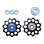 Kogel Bearings Not For Instagram Derailleur Pulleys, 11sp - Black/blue
