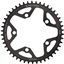 Wolf Tooth 110 BCD Cyclocross and Road Chainring - 46t, 110 BCD, 5-Bolt, Drop-Stop, 10/11/12-Speed Eagle and Flattop Compatible, Black
