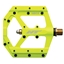 HT Pedals ME03 Evo+ Platform Pedals, CrMo - Neon Yellow