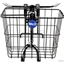 Wald 3114GB Front Quick Release Basket with Bolt-On Mount: Black