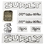 Surly Ogre Decal Set with Headbadge White