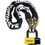 Kryptonite New York Fahgettaboudit Chain & Disc Lock: 5 Feet (150cm)