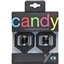 Crank Brothers Candy 1 Black Pedals on Hang Tag Packaging