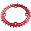 RaceFace Narrow-Wide Single Ring 34t x 104 Red