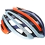 Lazer Z1 Helmet: Flash Orange and Blue