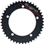 "Sugino 44t x 130mm 1/2"" x 1/8"" 5-Bolt Chainring Cool Black"