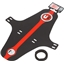 Muckynutz Face Fender XL Black/Red