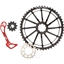 Wolf Tooth Components WolfCage Combo Pack: Includes 49T Cog, 18T Cog, and Derailleur Cage, Red