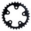 SRAM 30T x 74mm BCD Triple Alloy Ring Black
