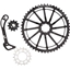 Wolf Tooth Components WolfCage Combo Pack: Includes 49T Cog, 18T Cog, SGS Adaptor Cage for XT8000, Black