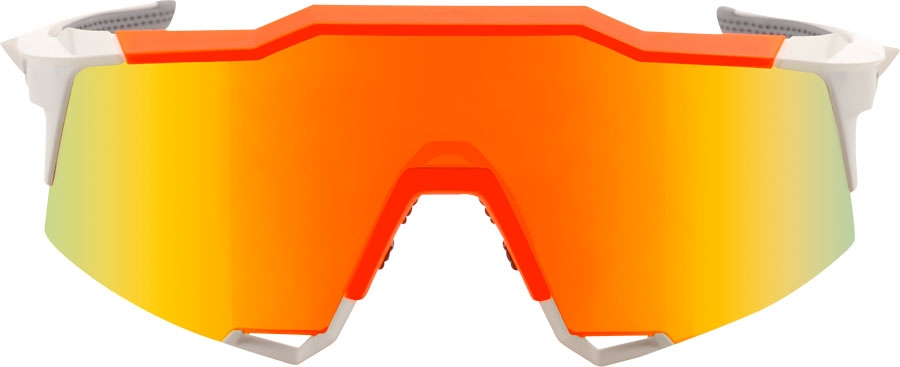 773bd5e6b3 The Speedcraft sunglasses feature a polycarbonate cylindrical shield and  use Topview technology to increase vertical visibility.