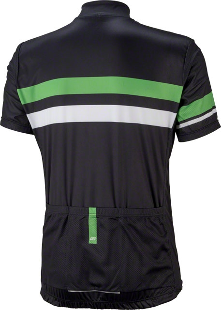 60f447543 Bellwether Edge Men s Short Sleeve Cycling Jersey  Black Citrus ...