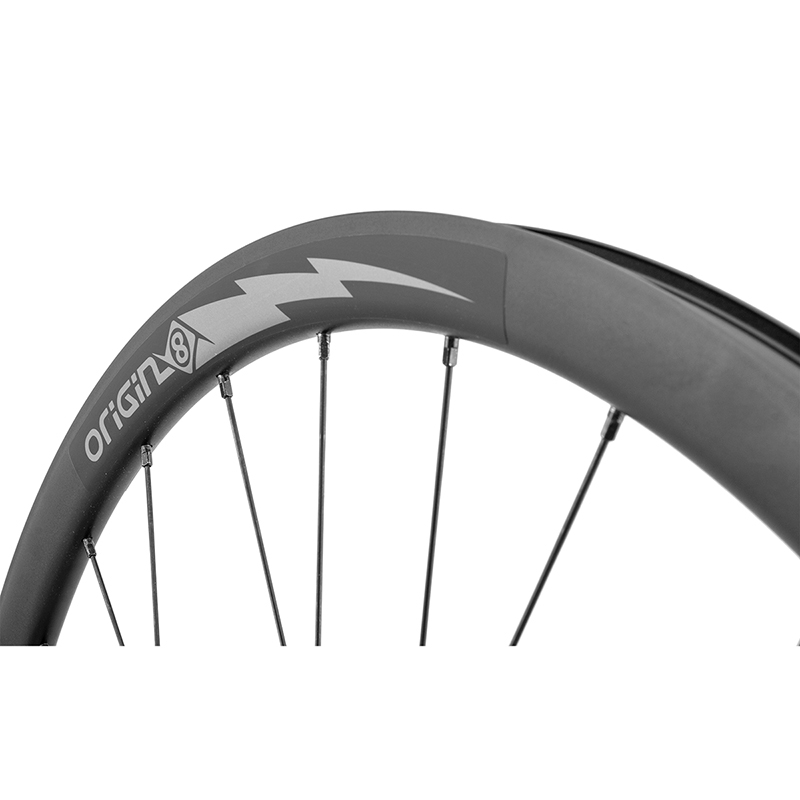 Origin-8 Bolt Alloy Road Rim 700c 622x17x24 Bolt Alloy Road Tbls 20 Caliper Bk