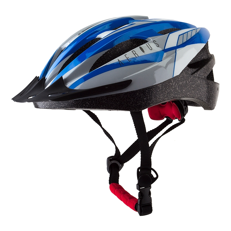 Adjustable fit 19 Vent Adult Bicycle Helmet by Aerius Sm//Md Removable Visor