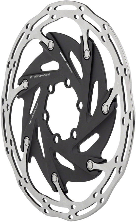 6-Bolt SRAM Centerline XR 2-Piece 160mm Rounded Rotor