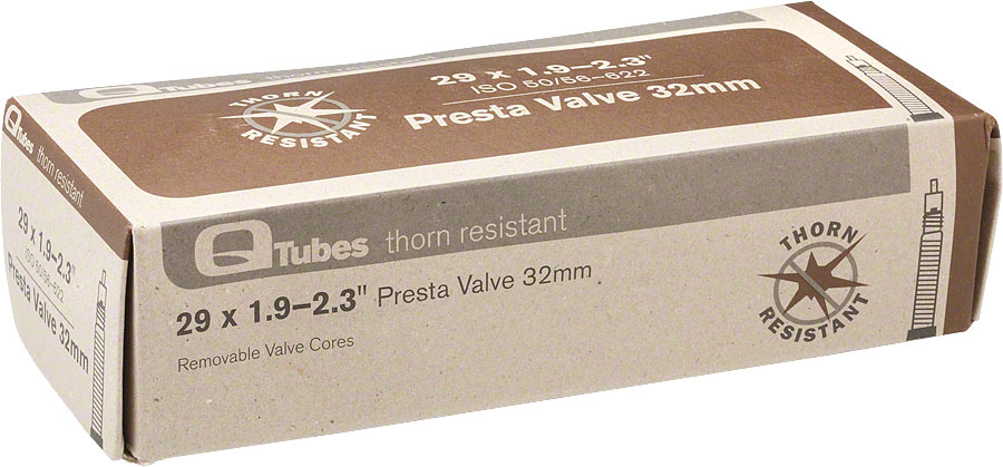 ANTI FLAT//THORN RESISTANT BICYCLE TUBE 700 x 28-32 48mm PRESTA VALVE