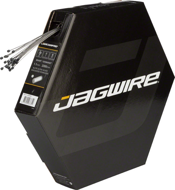 Jagwire Pro Polished Slick Stainless Derailleur Cable 1.1x2300mm SRAM//Shimano