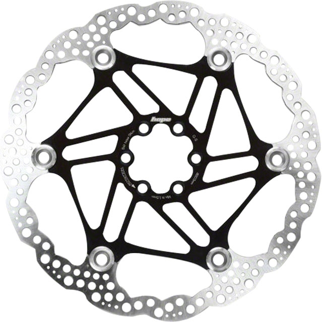 Hope Floating Disc Rotor 183mm Black Modern Bike