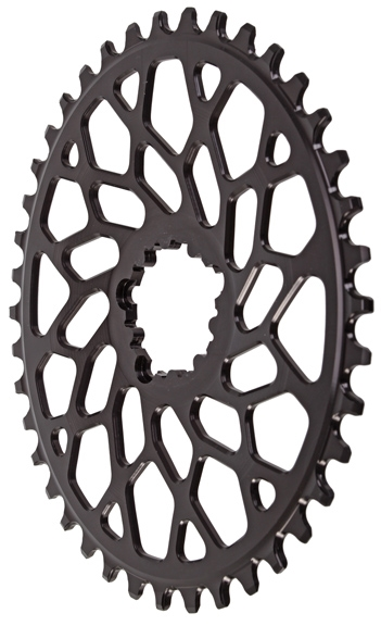 Absolute Black GXP//BB30 Oval Direct CX Bicycle Chainring 46T
