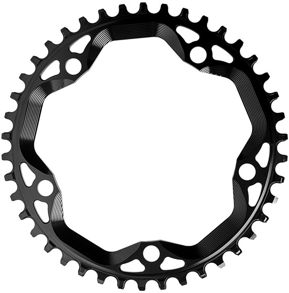 Cyclocross Chainring Red 110BCD 38T