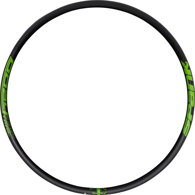 X 35MM--32H BLACK BICYCLE RIM SPANO OOZY TRAIL 395+--29
