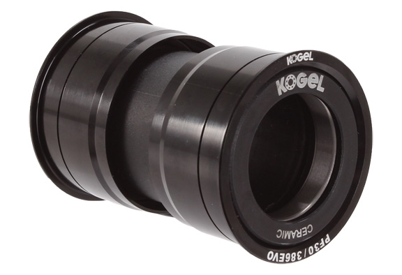 cross alloy BB Kogel Bearings PF30-386EVO//RFCinch//Rotor30 black