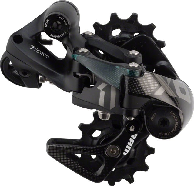SRAM X01 DH Type 3.0  Rear Derailleur 7 Speed Short Cage