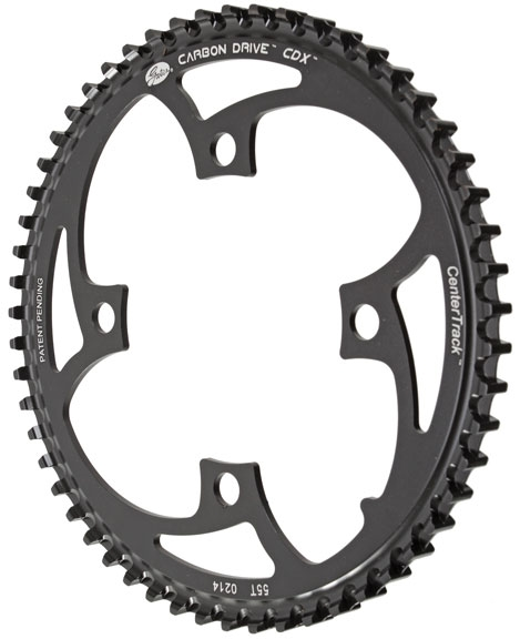 NEW Gates Carbon Drive CDX CenterTrack Front Pulley 46 tooth 5 bolt 130mm bcd