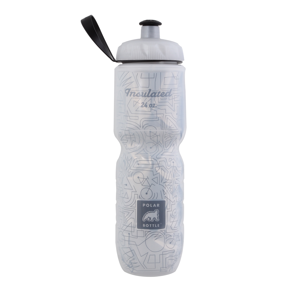 POLAR INSULATED LEMONGRASS 24 OZ WATER BOTTLE