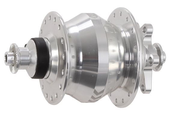 Shutter Precision SP PD-8X IS-disc front T-A hub 32h 15x100mm silver