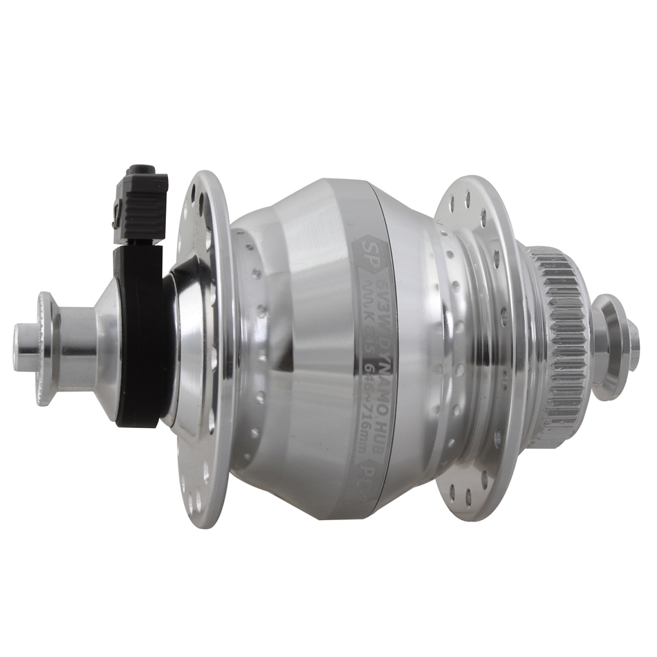 SP Shutter Precision PD-8X IS-disc front T-A hub 32h silver 15x100mm