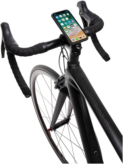 outlet store dcece 558df Topeak RideCase with RideCase Mount for iPhone X: Black/Gray