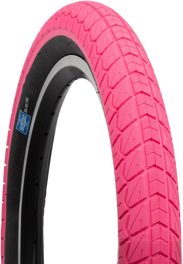 Tire Places Open On Sunday >> Sunday Current Tire 18 X 2 2 Pink With Black Wall