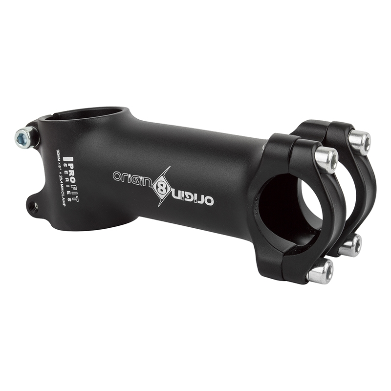 8d Origin8 Pro-Fit Black Series Ergo Stem
