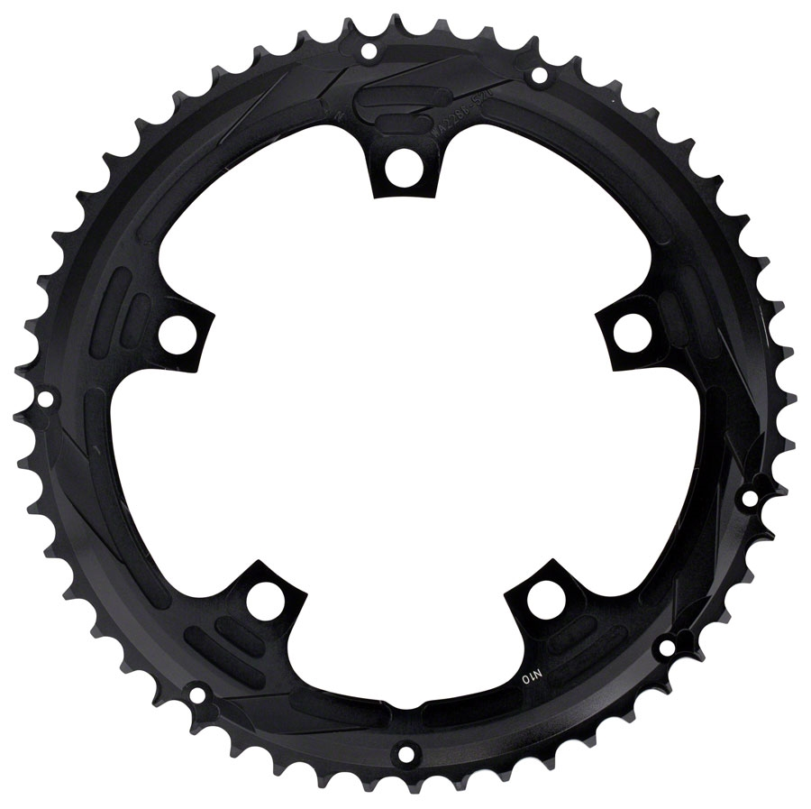BCD 130mm 5 Bolts Ext�rieur Chainring for Road Double Aluminum BL for sale online FSA 52t 10sp