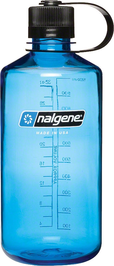 Nalgene Tritan Narrow Mouth Water Bottle: 32oz; Slate Blue ...