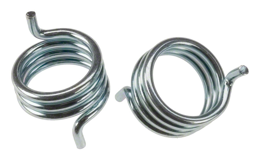 NEW Silver or Gold CANTILEVER BRAKE SPRING HOOK SIDE PAIR