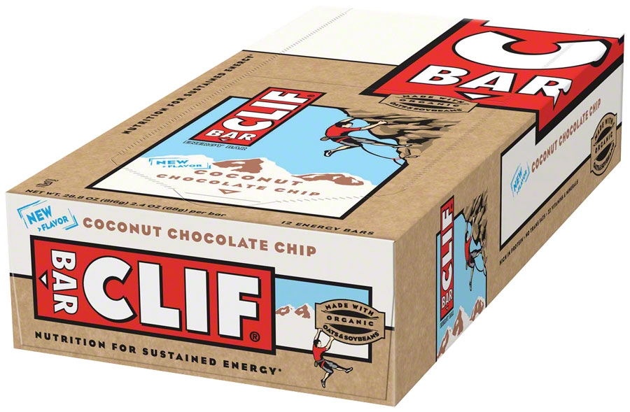 cd4ce8c96 Clif Bar Original  Coconut Chocolate Chip  Box of 12 - Modern Bike