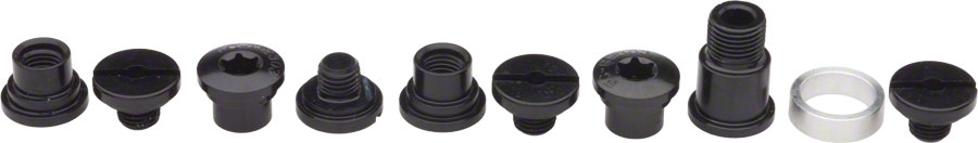 Campagnolo Power-Torque Chainring Bolt Kit Black