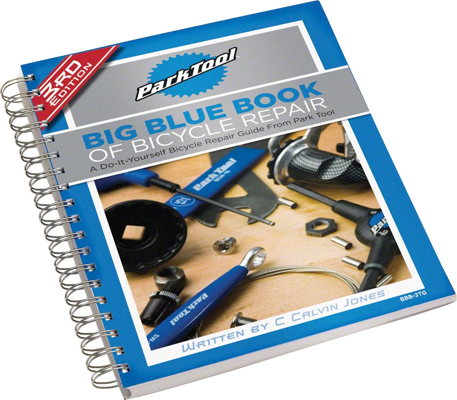 park tool bbb 3tg big blue book of bicycle repair instructor manual rh modernbike com Schwinn Bicycle Repair Manuals Bicycle Repair Tools