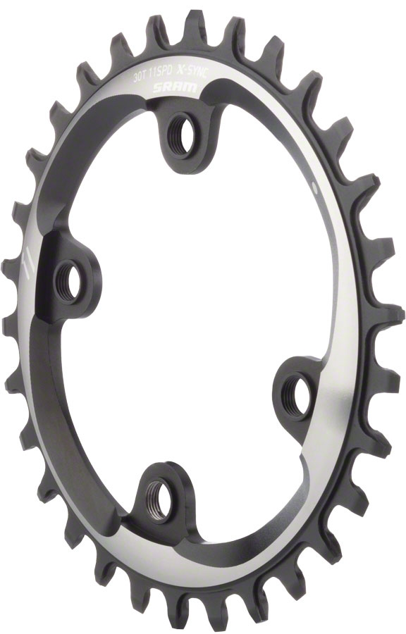 and 11-Speed SRAM Chains SRAM X-Sync 34 Tooth 94mm BCD 4-Bolt Chainring fits 10