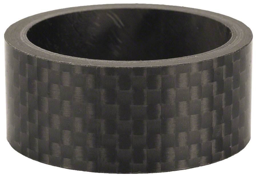 """Wheels Manufacturing 15mm x 1-1//8/"""" Unidirectional Carbon Headset Spacer Each"""