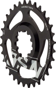 North Shore Billet Direct Mount Variable Tooth Bike Chainring 26T SRAM X9//X0
