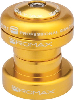 "Promax PI-1 Alloy Sealed Bearing 1-1//8/"" Press in Headset Black"