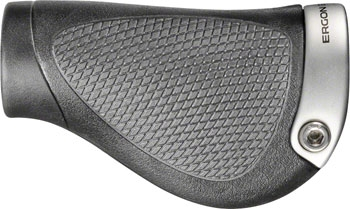Ergon GP2//L Bicycle Grips Large Black//Gray