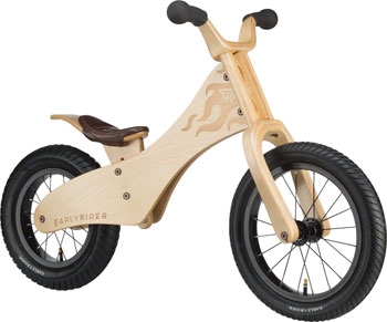 early rider classic wooden balance bike 12 rear 14 front wood modern bike. Black Bedroom Furniture Sets. Home Design Ideas